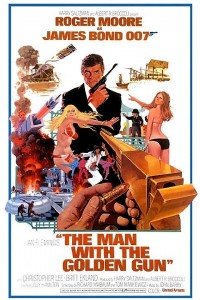Filmplakat The Man with the golden gun