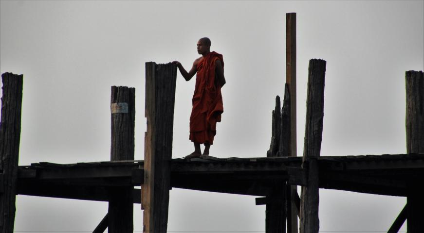 Monk U Bein Bridge