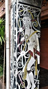 Open Air Asien Street Art Kuching