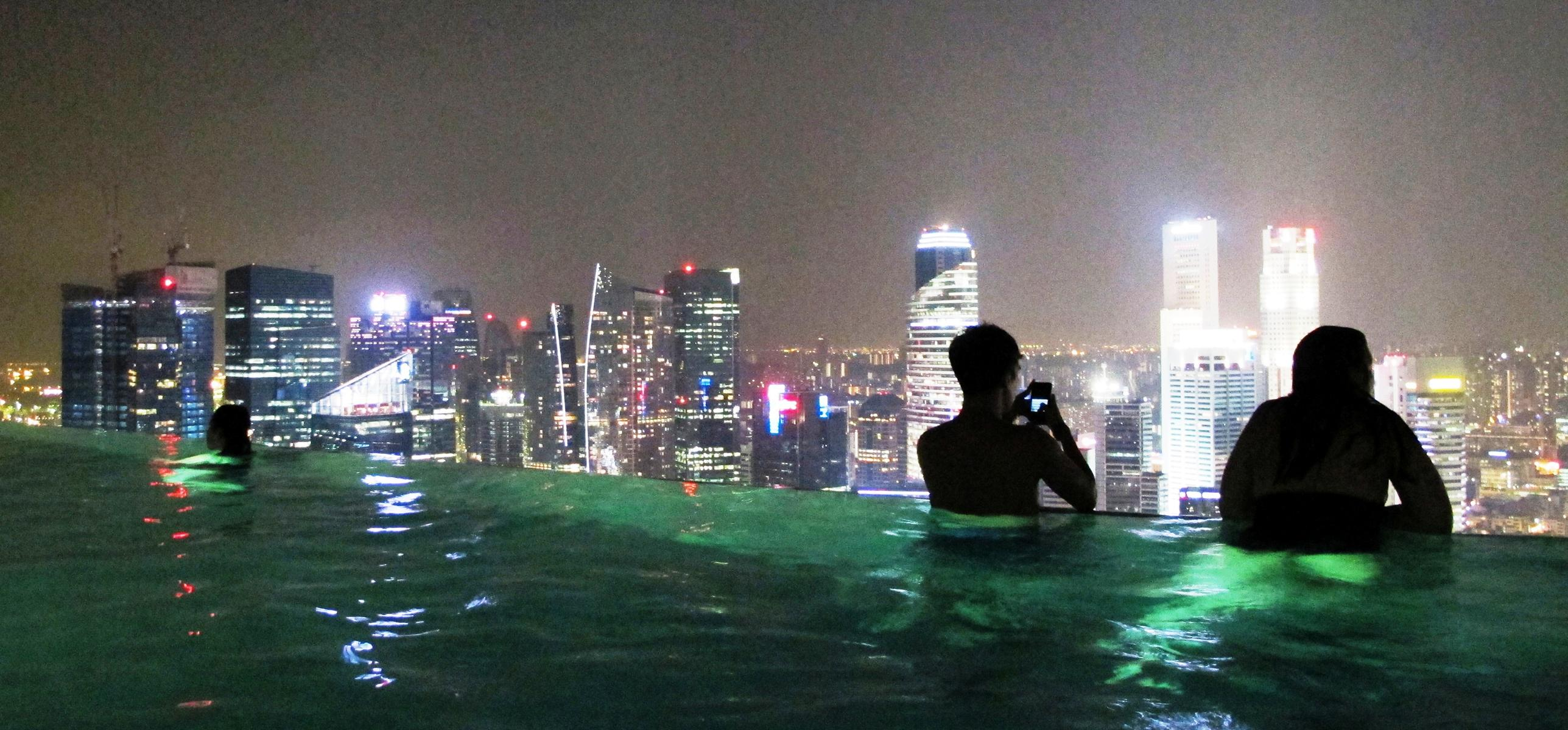 Singapur: Marina Bay Sands – Pool Position beim Nacht-GP