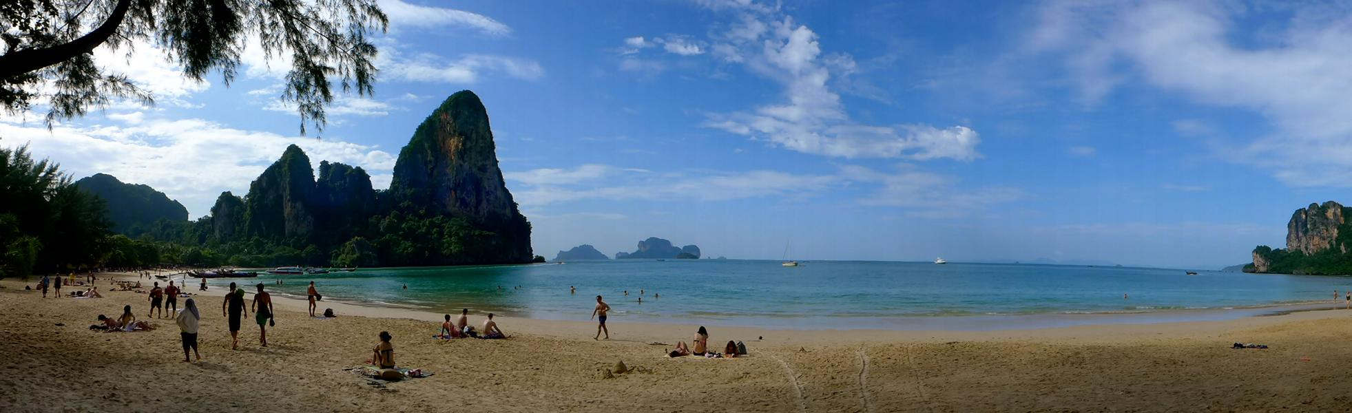 Krabi: Railay Beach und Tonsai Beach