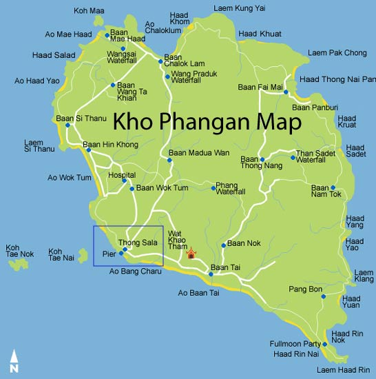 Map_Phangan_Lomprayah
