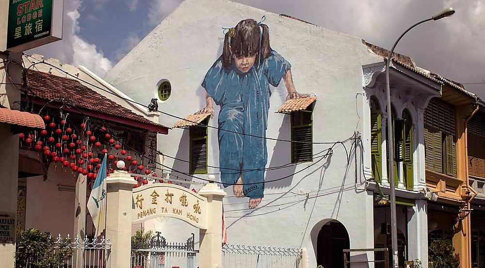 Asien Open Air: Street Art in Penang