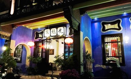Hotel in Penang: The Blue Mansion