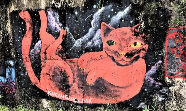 Asien Open Air: Street Art in Kuching