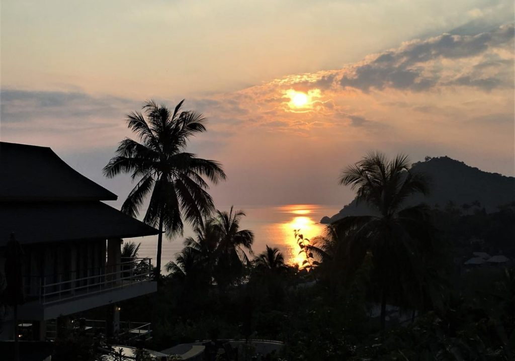 Sunrise Koh Phangan Pavilions (Photo: Faszination Fernost/B. Linnhoff)
