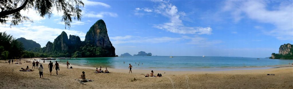 Railay Beach, Krabi, Thailand (Photo: B. Linnhoff/Faszination Fernost)