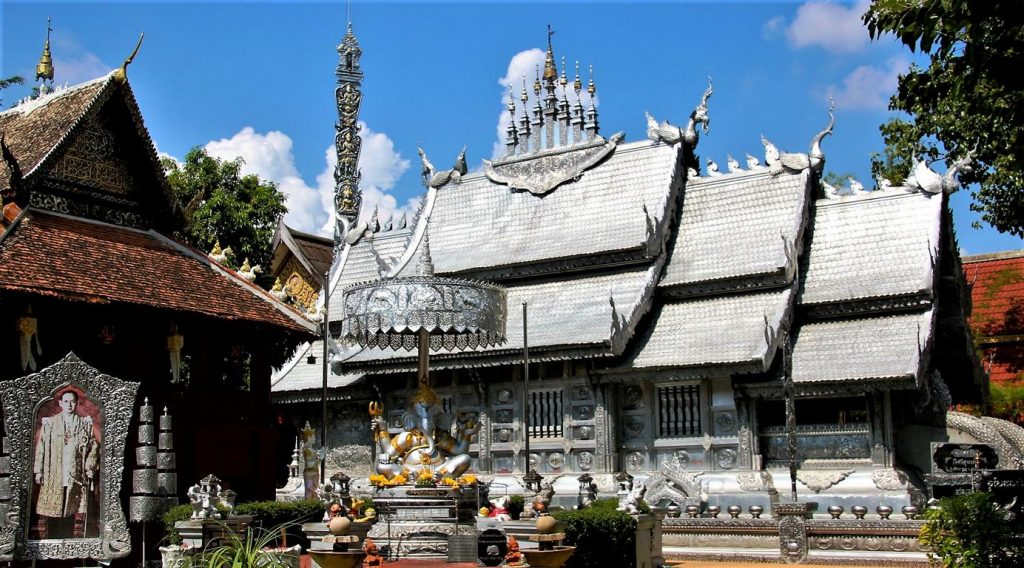 Silver Temple in Chiang Mai, Thailand (Photo B. Linnhoff/Faszination Fernost)