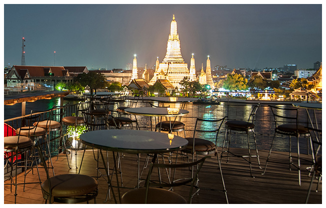 Bangkok: Cocktail im Adlernest